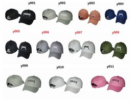Wholesale Red Peaked Hats For Men - 2016 New Design Peaked Caps Adjustable Snapback Caps Hight Quality Hat Snapbacks Yeezus Kanye West Golf Caps For Men Free Shipping.