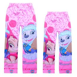 Wholesale Cartoon Girls Tights - Retail 3T-10T cartoon girls Leggings & Tights Spring   Autumn pink cotton children pants clothes kids