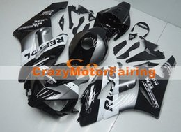 Wholesale Motorcycle Fairings Body Kits - New Injection High quality ABS Motorcycle Fairing Kit 100% Fitment For HONDA CBR1000RR 2004 2005 CBR1000 04 05 Body grey white black repsol