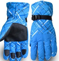 Wholesale United Glove - Europe and the United States men and women warm gloves, winter thickening, waterproof, waterproof, riding motorcycle cotton couple ski glove