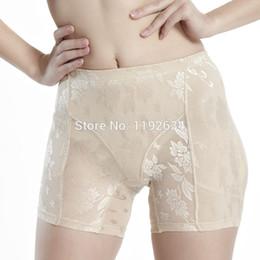 Wholesale Hip Butt Padded Underwear - Wholesale-2016 Summer Style Lady Padded Seamless Bottom Panties Underwear Butt lifter Briefs Butt Hip Enhancer Shaperwear Panties