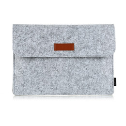 """Wholesale Apple Laptop Mouse - dodocool 13.3-Inch Felt Sleeve Cover Carrying Case Protective Bag with Mouse Pouch for Apple 13"""" MacBook Air   13"""" MacBook Pro Free DHL DA98"""