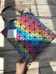 Wholesale Male Handbags Casual - 2017 Bao Bao Bag High-end Geometric Handbags AAAAA Plaid Shoulder Diamond Lattice BaoBao Ladies Messenger Bags handbag Male Female
