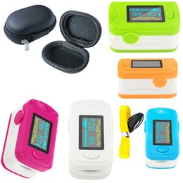 Wholesale Oximeter Beeps - Sound alarm,Beep,SPO2 PR setting, CE FDA OLED Fingertip Pulse Oximeter Bood Oxygen SPO2 PR oximetro moniter Green RR5