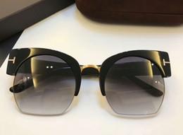 Wholesale 55 mm - Women Savannah Sunglasses MOD 552 01B Shiny Black   Gradient Smoke 55 mm FASHION BRAND SUNGLASSES With original Case