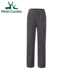 Wholesale hunting pants for men - Wholesale-Mobi Garden New Spring&Autumn&Winter Outdoor Climbing Hunting Warm Sports Pants Men Fleece Pants For Couples ZMB1302053
