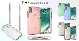 Wholesale Diamond Cellphone Cases - For IPhone X Soft TPU Transparent Diamond Cases For IPhone 6s 7 8 Plus 8 Galaxy S8 Note8 Anti Shock Proof Cellphone Protective Cover