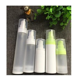 Wholesale Mechanical Pumps - 2017 Airless Pump Lotion Bottle, Airless Container,15ml Cosmetic Packaging mechanical spring not touching liquid
