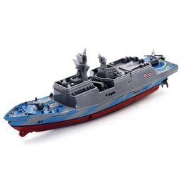 Wholesale Carrier Remote Control - Wholesale- Remote Control Challenger Aircraft Carrier RC Boat Warship Battleship Product size: 15.5 * 5.3 * 5.3CM Y7811