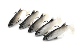 10 Unids / lote 14G 8.6Cm Señuelos Suaves Cebo Señuelos de Pesca de Plástico Isca Señuelos Artificiales Suave Señuelos de Pesca Pescado Señuelo de la Pesca de Alta Calidad desde fabricantes