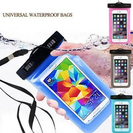 Wholesale Galaxy S4 Water Proof Cover - Waterproof Dust Proof Bag Underwater Pack Cover Case Pouch for iPhone 4 4s 5 5c 5s 6 6plus for Samsung galaxy s4 s5 s6
