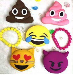 banco de poder emoji Rebajas GOESTIME más nuevo diseño 2000 mah gracioso lindo Emoji Face Shaped Power Bank PVC material carga móvil de dibujos animados para el teléfono móvil