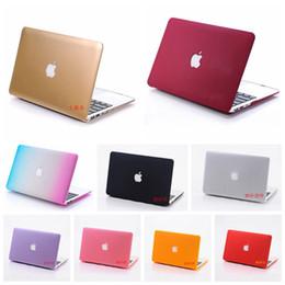 Wholesale Matte Skin Macbook Pro - Laptop Case for apple Macbook Air Pro Retina 11 13 15 2016 Matte Hard Plastic skin protective cover for mac book notebook
