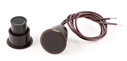 Wholesale Security Contact - Brown Recessed Type Security Alarm Contacts Door Window Reed Switch