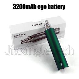 Wholesale Ego Twist Mah - eGo 3200 mAh Variable Voltage huge capacity battery 3200mah KGO ONE WEEK 2200mAh Vision Spinner II Ego-C Twist Ego 1300mah Battery