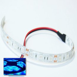 Wholesale Decoration Cars - Warm White 5050 LED 10cm 15cm 30cm 60cm Car Strip Waterproof Blue Red Green 9V to 12V DC Caravan Boat Model Fairground Funfair LED Light