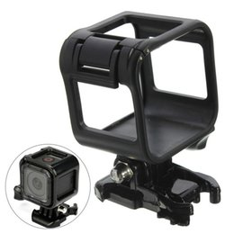 Wholesale Gopro Side Mount - For Gopro 4 Session Standard Side Frame Housing Case Waterproof Plastic Border Cover Camera Protector Mount for Gopro Hero 5 Session