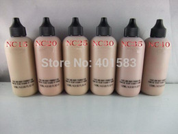 Wholesale Hot Body Lotion - 72pcs lot-Hot Sale brand new cosmetics Face&Body Foundation lotion 120ML face liquid foundation cream makeup wholesale,free DHL shipping