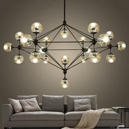 Wholesale Modo Light - Modern Glass Chandeliers designer Jason Miller MODO chandelier Lighting Fixtures Living Room dining room LED DNA Pendant Lamp 110V-240V