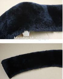 Wholesale Mink Fur Prices - Wholesale-Women winter wholesale lastest design mink fur collar with factory price