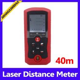Wholesale Laser Meter Price - M In Ft Three Units Handheld Rangefinder Factory Price Laser Diatance Meter 40m Measuring tools