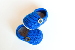Wholesale Knit Crochet Baby Patterns - Free shipping!100% handmade baby Loafers,CROCHET PATTERN infant Booties,spring blue walking shoes,knitted toddler shoes!12pairs 24pcs