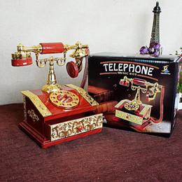 2019 articles de jeux d'eau Cadeau créatif rétro ornements en plastique artisanat sculpté téléphone boîte à musique articles ménagers copines de noël cadeaux de mariage d'anniversaire