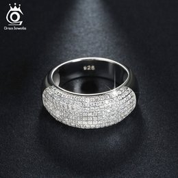 Wholesale Beautiful Gold Jewelry - Beautiful 168 Pieces Cubic Zircon Diamond Ring White Gold Plated Women Rings Fashion Jewelry Wholesale OR122