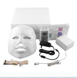 Wholesale Led Beauty Mask - PDT Photon LED Facial Mask Skin Rejuvenation Beauty Therapy 3 Colors Lights 7 Colors Lights For Pigmentation Correction 0602011