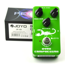 Wholesale Guitar Pedal Joyo - JOYO JF-10 Dynamic Compressor Guitar Effect Pedal