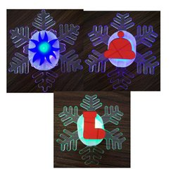 Wholesale lowest priced led christmas lights - 3pcs lot New brand LED window suction snowflake decoration light christmas ornaments acrylic fascinating snow drop shipping lower price