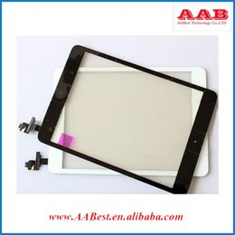 Wholesale Ipad Mini Touch Glass Replacement - Free Shipping Replacement Front Outer Glass Digitizer For iPad Mini Touch Screen With IC