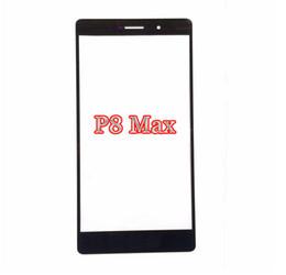 2019 huawei p8 max cubre Venta al por mayor en caliente para Huawei P8 Reemplazo de la lente de vidrio exterior máx. Para Huawei P8 Pantalla táctil frontal Cubierta de vidrio delantera P8max con herramienta gratuita huawei p8 max cubre baratos