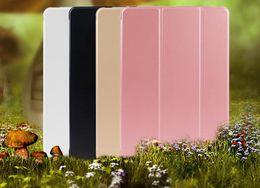Wholesale Protective Hard Case Tablet - 5 pics iPad Case Foldable Tablet pc Protective Hard Cases Cover for iPad mini 1 2 3 4 pro 9.7 10.5 12.9 air 2 5 6