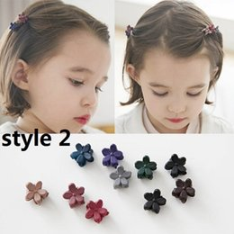 Wholesale Metallic Claws - 15% off! 2016 new Assorted Bangs Mini Hair Claw Clip HairPin Flower hair Accessories for Girl Women Baby hair clip Mix Colored 6style 300pcs