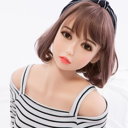 Wholesale Sexy Silicone Love Doll Sex - Lolita doll daughter doll oral love doll realistic sex toys for men big breast sexy 153cm vagina adult dolls