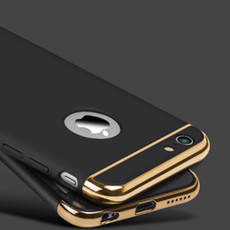 Wholesale Iphone Cover High Quality - High Quality Luxury Ultra Thin Shockproof Armor Phone Cover Case For iPhone 5 5s SE 6 6s Plus case