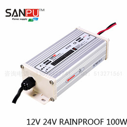 Wholesale 24v Power Supplies - SANPU With CE Output 8.3A,12V 24V 100W LED Switch Power,LED power supply-Rain-proof,110-220VAC,use for led strip.