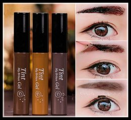 Wholesale Easy Peel - Tint brow gel Etude House Tint My Brows Gel 5g -Korea Costmetics Peel off type 3 Color Eyebrow Enhancers with Retail Packing
