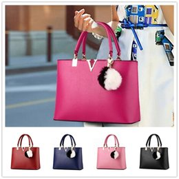Wholesale Cheap Crocodile Tote Handbags - High grade cheap The new fashion sweet lady temperament V-shaped zipper women Shoulder Messenger Handbag BAG102