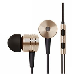 Wholesale Custom Iphone Color - 3.5mm Metal Xiaomi Headphones Universal headset Noise Cancelling In-Ear Earphone For Xiaomi Samsung HTC Huawei (Custom Logo)