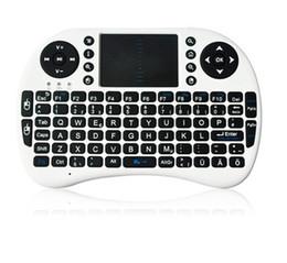 Air Mouse Teclado Mini Inalámbrico 2.4 Ghz Teclado Inglés Control Remoto Touchpad Android TV Box MXQ Pro T8 M8S Diseños únicos de doble ratón desde fabricantes