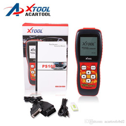 Wholesale rate code - 2018 Top-Rated 100% Original XTOOL PS100 code scanner code readers ps100 CANOBDII EOBDII scanner obd2 scanner free shipping