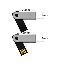 Wholesale Mini Swivel Usb Flash Drive - Mini USB Flash Drive swivel twist usb disk waterproof with OEM Logo 512mb 1gb 2gb 4gb 8gb 16gb 32gb