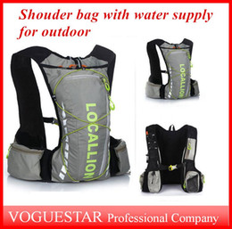 water packs for hiking Coupons - Hydration packs Bicycle Shoulder bags Backpack Sport Outdoor 10L used for Cycling Riding Travel Mountaineering Hydration Water Bag OUT023