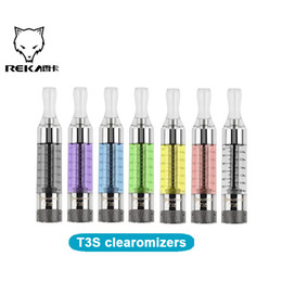 Wholesale Kanger T3s Sale - New Kanger T3S Clearomizer e cigs vaporizers 3ml kanger t3s atomizer tanks with Changeable Coil By Kangertech cheap for sale