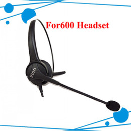 Wholesale Telephone Headset Corded Phones - FOR600 monaural call center headsets system single ear for busy office family call center phone headset