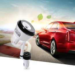 Wholesale Fragrance Warmers - Nanum II Car Charger Air Humidifier Purifier,Vehicular essential oil ultrasonic humidifier Aroma mist car fragrance Diffuser DHL Free