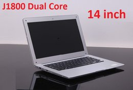 Wholesale New Cheap Notebook Laptops - NEW Arrival 14 inch Laptops Notebook Intel Dual Core HDMI laptops J1800 Win Seven 2GB 160GB 250G 320G Cheap Mini laptop Computer PC