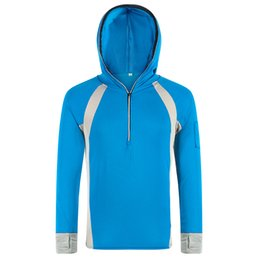 Wholesale Protection Hoodie - Wholesale-New Men Women Outdoor UV Protection Jacket Quick Dry Windproof Breathable Fishing Clothes Overall Hoodies Sports Coats RM074